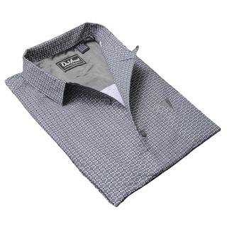 DaVinci Men's 'Wayne' Cotton Short-sleeved Shirt