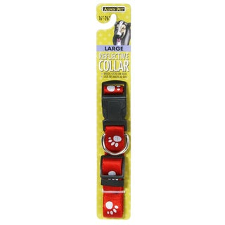 """Petmate 1"""" X 16"""" Reflective Dog Collar (2 options available)"""
