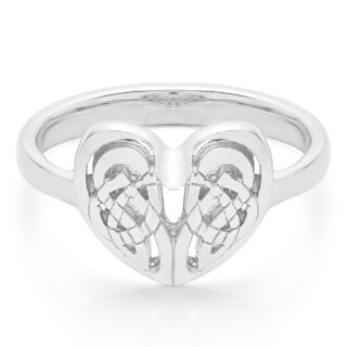 Sterling Silver Celtic Heart Ring (More options available)