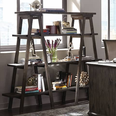 Sutton Place Bookshelf in Weathered Charcoal