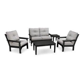 Vineyard 5-Piece Deep Seating Set