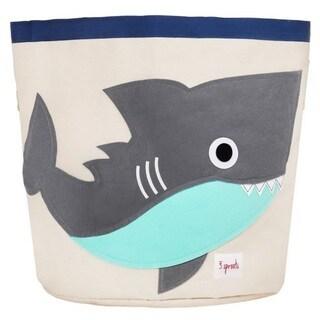 3 Sprouts Grey Shark Storage Bin