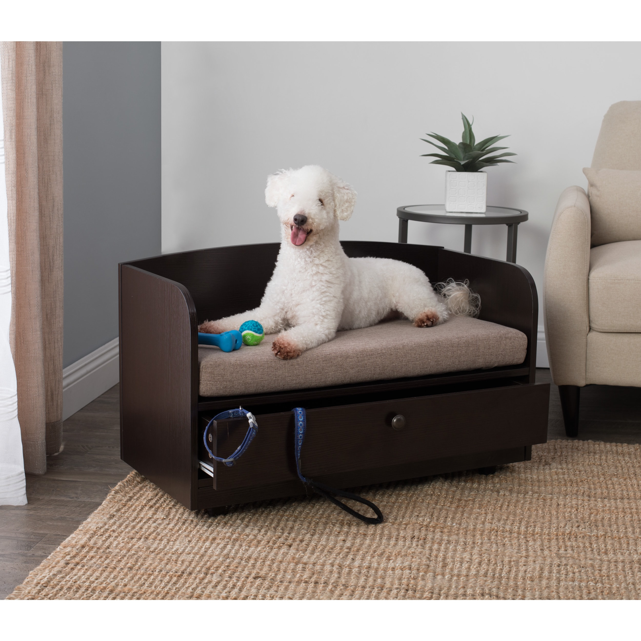 Studio Designs Paws & Purrs Pet Bed with Storage Drawer (...