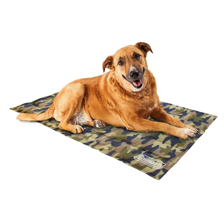 Coleman Comfort Cooling-Gel Pet Pad (Small, Grey Camo)