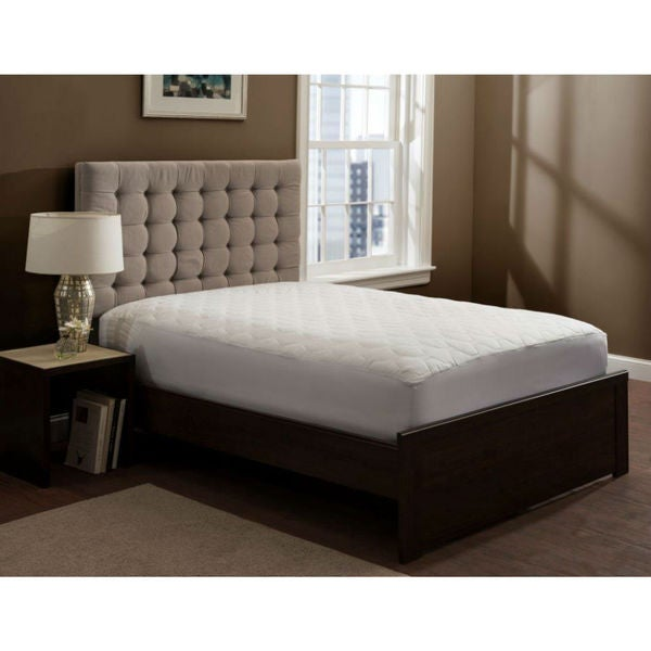 THE GRAND Quilted Fitted Mattress Pad