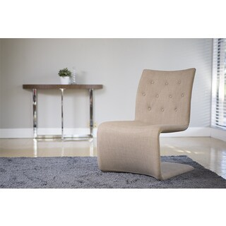Ville Tan Tufted Lounge Chair (Set of 2)