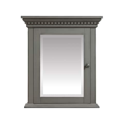 "Azzuri Hastings 24 in. Mirror Cabinet - 24""W x 27""H"