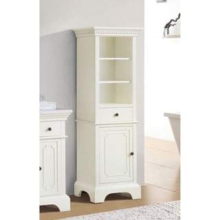 Azzuri By Avanity Hastings French White 22 Inch Linen Tower