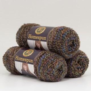 Lion Brand Yarn Homespun Nouveau 790-338 3 Pack Fashion Yarn