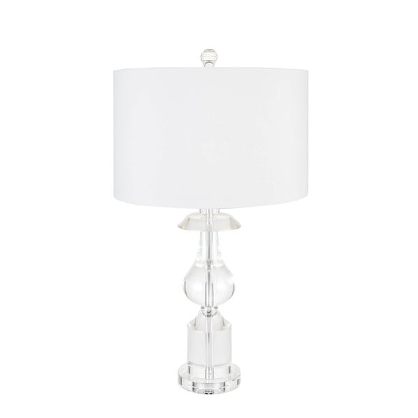 Crystal Sculpture Table Lamp With 3 Brightness Settings