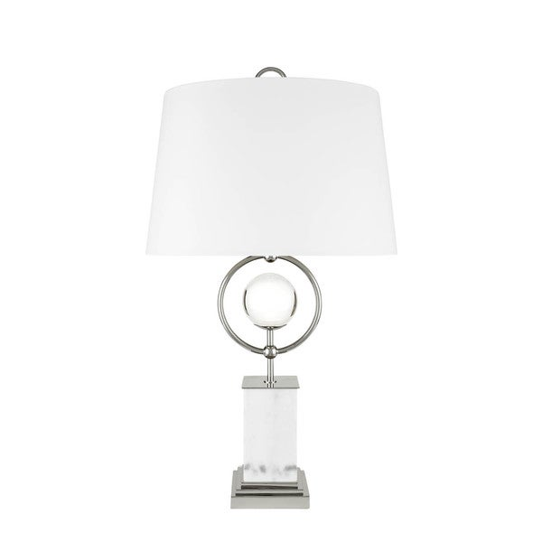 Crystal Dome Statue Table Lamp with 3 Brightness Settings