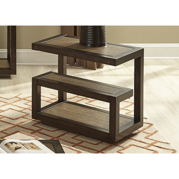 Bennett Pointe Smokey Tan Chair Side Table