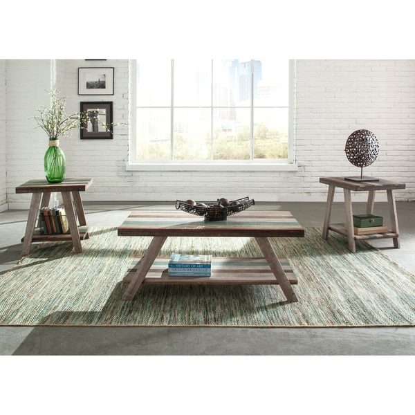 Boho Loft Multi Color Occasional Tables (Set of 3)