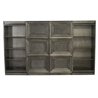park avenue satin charcoal 4 piece wall unit