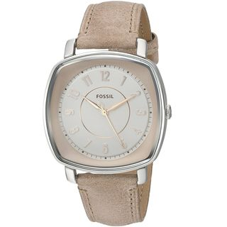 Fossil Women's ES4196 'Idealist' Brown Leather Watch