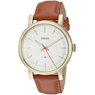 Fossil Women's ES4181 'Original Boyfriend' Brown Leather Watch