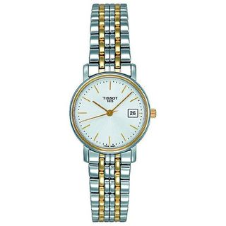 Tissot Women's T52228131 'T-Classic Desire' Two-Tone Stainless Steel Watch