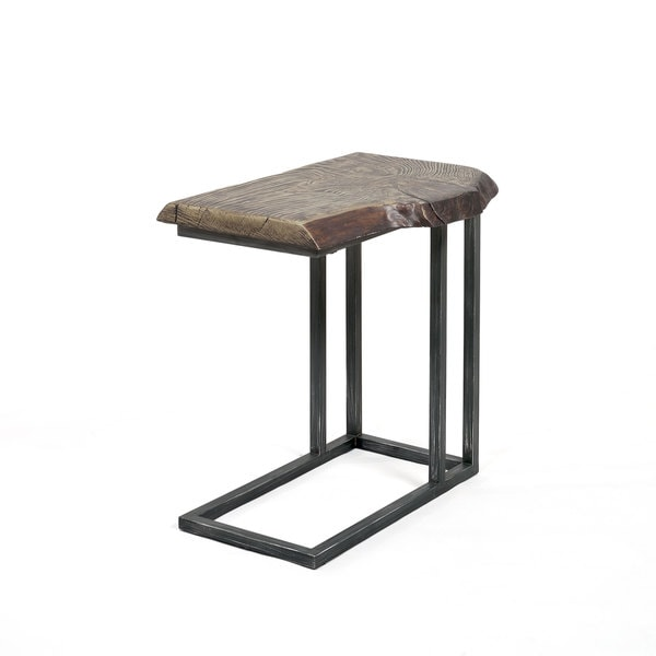 C Tables Furniture: Shop Best Master Furniture YFT5 Brown Metal And Wood C