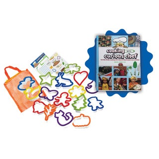 Cooking with Curious Chef Cookbook and 16-piece Cookie Cutter Collection