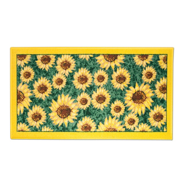 "Shop Sunflower Kitchen Rug (18""x30"")"
