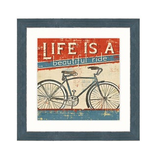 Framed Art -Beautiful Ride I