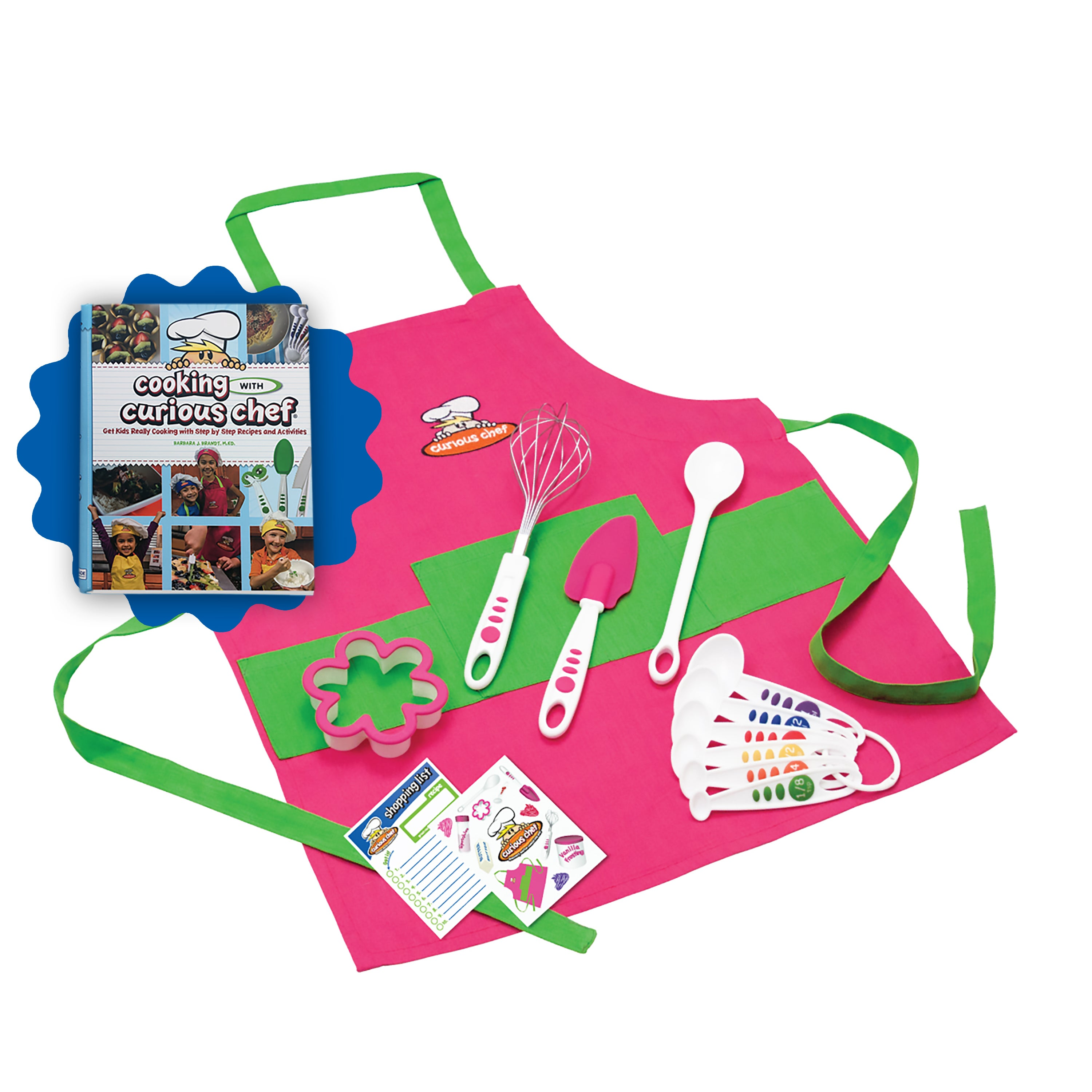 Curious Chef Pink Silicone 11-piece Cooking Kit Chef's Bu...