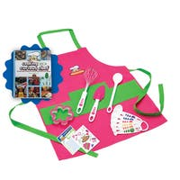 Curious Chef Pink Silicone 11-piece Cooking Kit Chef's Bundle With Cookbook