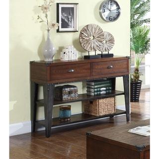 Best Master Furniture DX600 Sofa Table - Walnut
