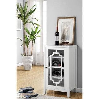 Acme Furniture Fina Wine Cabinet, White