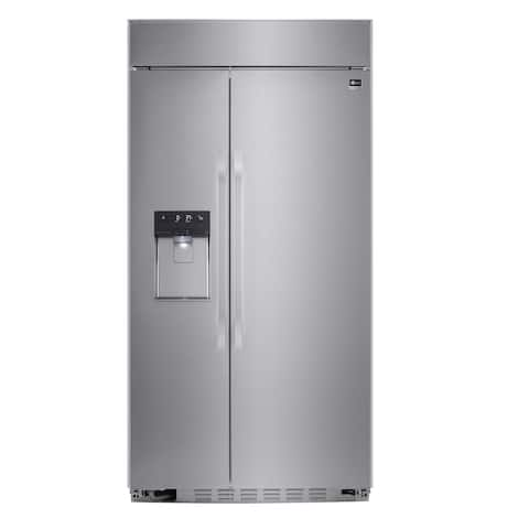 """LSSB2692ST 42"""" Built-In Side-by-Side Refrigerator"""
