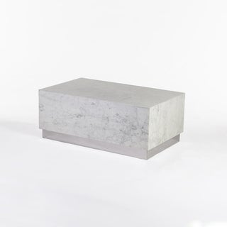 Hans Andersen Home Eindride White Marble Coffee Table