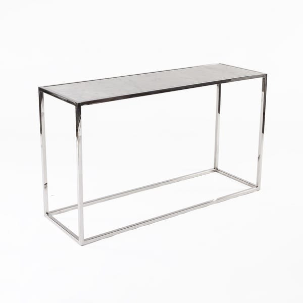 Hans Andersen Home Eilwyn Stainless Steel Console Table