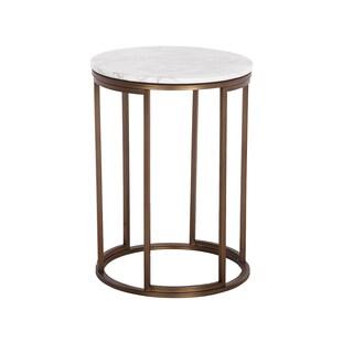Hans Andersen Home Porter Marble Side Table