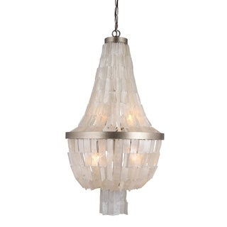 Y-Decor Silvery Gold Finish 3-light Chandelier