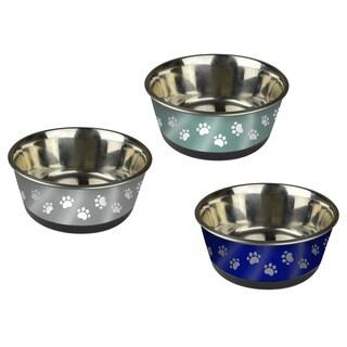 Pet Zone Stainless Steel Medium Pet Bowl