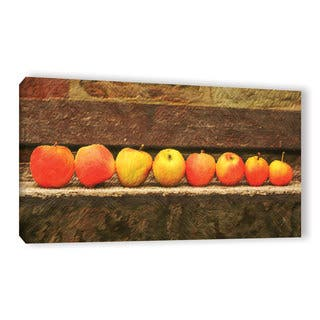 Copper Grove Scott Medwetz's 'Apple Line Up' Gallery Wrapped Canvas Wall Art