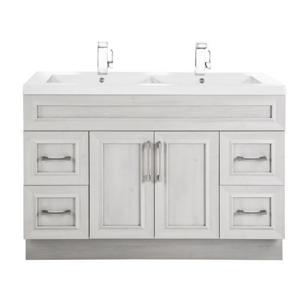 Cutler Kitchen & Bath Classic Collection MDF Transitional Door Vanity With Double Sink