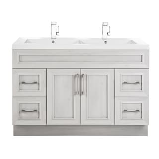 Cutler Kitchen U0026 Bath Classic Collection MDF Transitional Door Vanity With  Double Sink