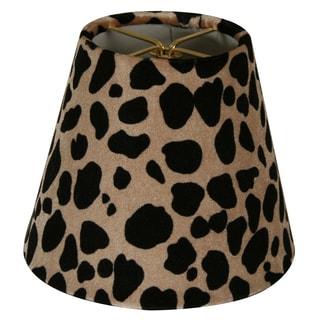 Royal Designs Leopard Silk 5-inch Chandelier Lamp Shades (Set of 6)