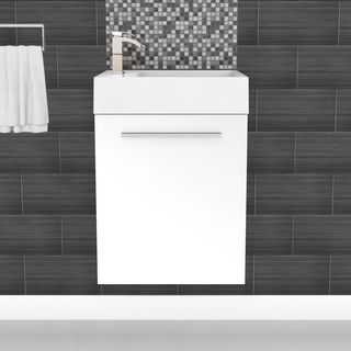 up to 20 inches bathroom vanities & vanity cabinets - shop the