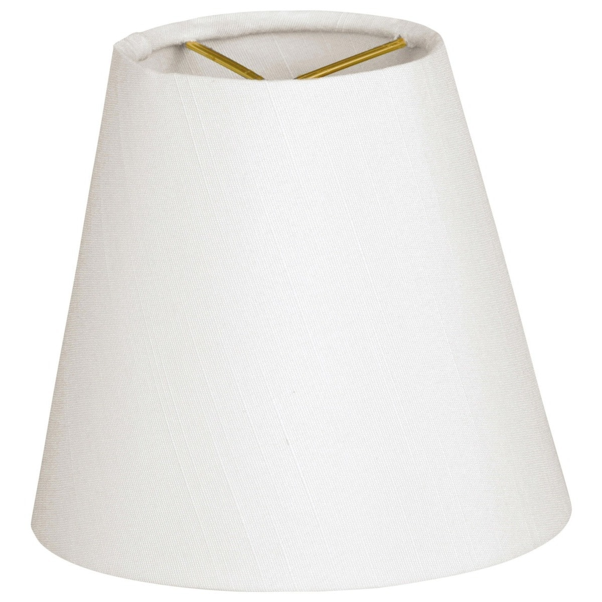 Royal Designs Hardback Empire White 3 X 5 X 4 5 Inch Clip On Chandelier Lamp Shade Set Of 6 On Sale Overstock 15052569