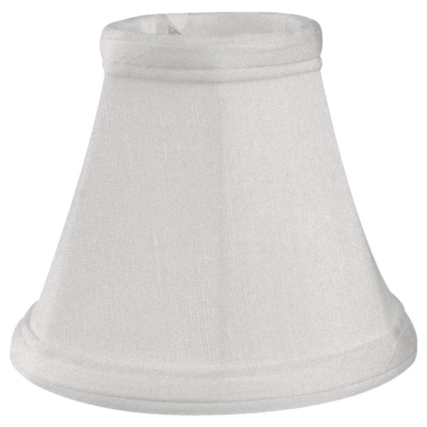 Royal Designs Empire White 5-inch Chandelier Lamp Shades (Set of 6)