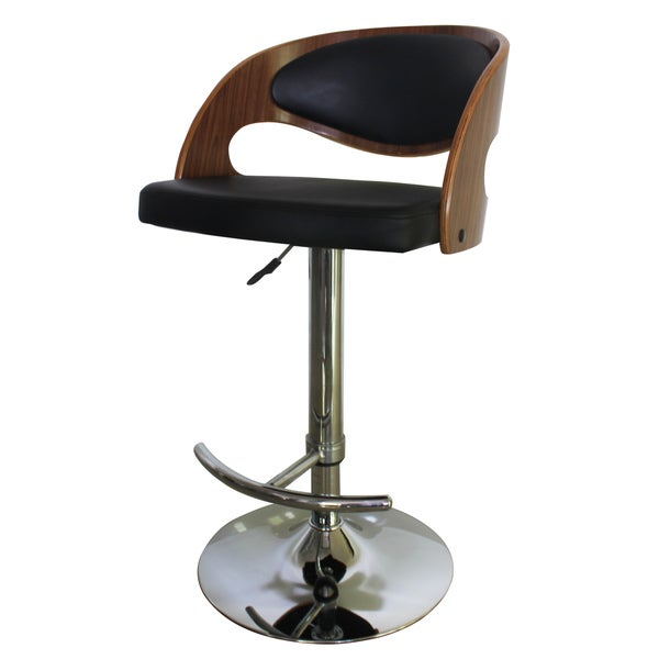 Shop Modern Collection Height Adjustable Pu Leather Swivel