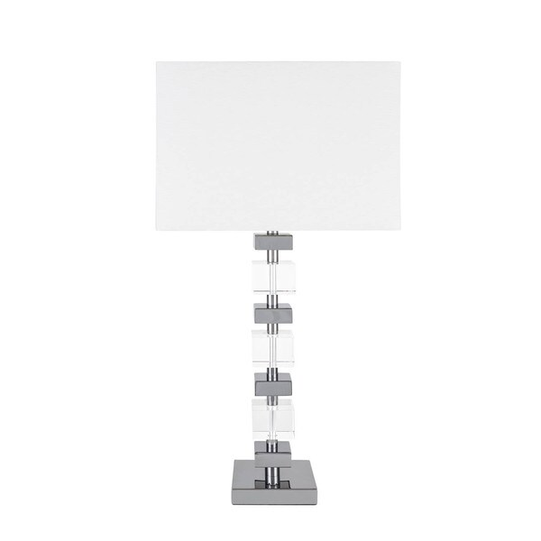 Crystal Building Blocks Table Lamp with 3 Brightness Settings
