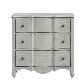 Stefan Distressed Wood Drawer Chest