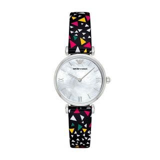 Emporio Armani Women's AR1995 Mother Of Pearl Dial Confetti-Print Leather Watch|https://ak1.ostkcdn.com/images/products/15053218/P21546349.jpg?impolicy=medium