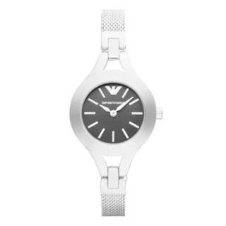 Emporio Armani Women's AR7328 Classic Black Dial Stainless Steel Bracelet Watch