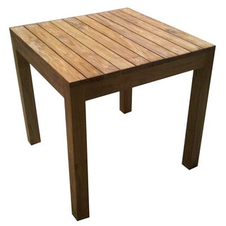 Rustic Teak Outdoor Dining Table