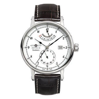 Graf Zeppelin Nordstern Automatic Watch with Power Reserve and Sapphire Crystal
