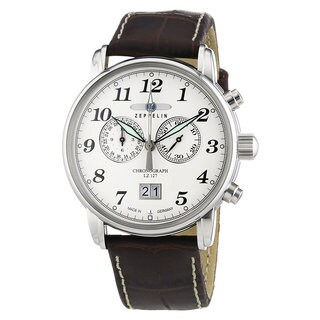 Graf Zeppelin Chronograph Big Date Watch with 12-hr Totalizer #7686-1